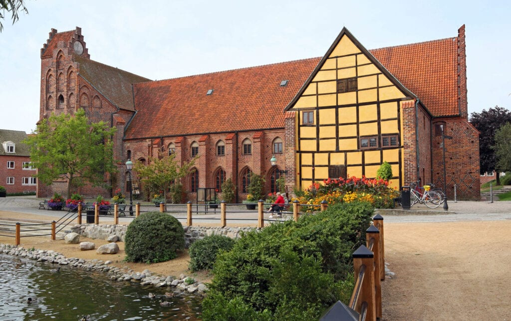 The Greyfriars Abbey of Ystad